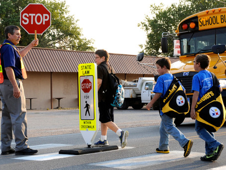 What do Crossing Guards do?