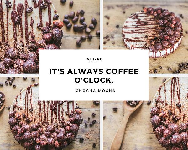 White & Black Modern Coffee Quote Photo