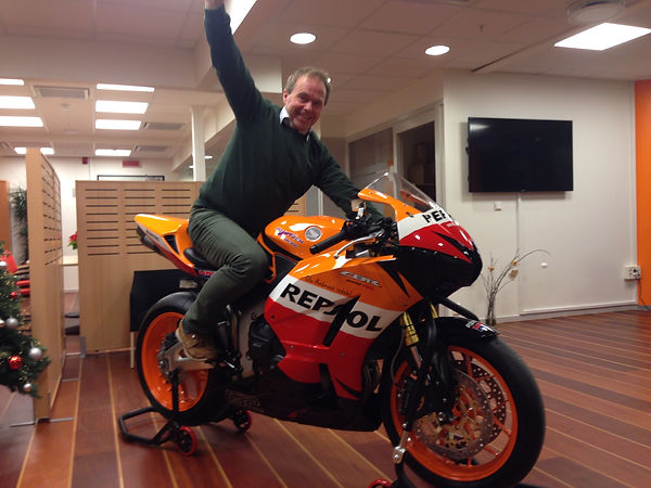 Biker Dude Ole-Andreas Isdahl