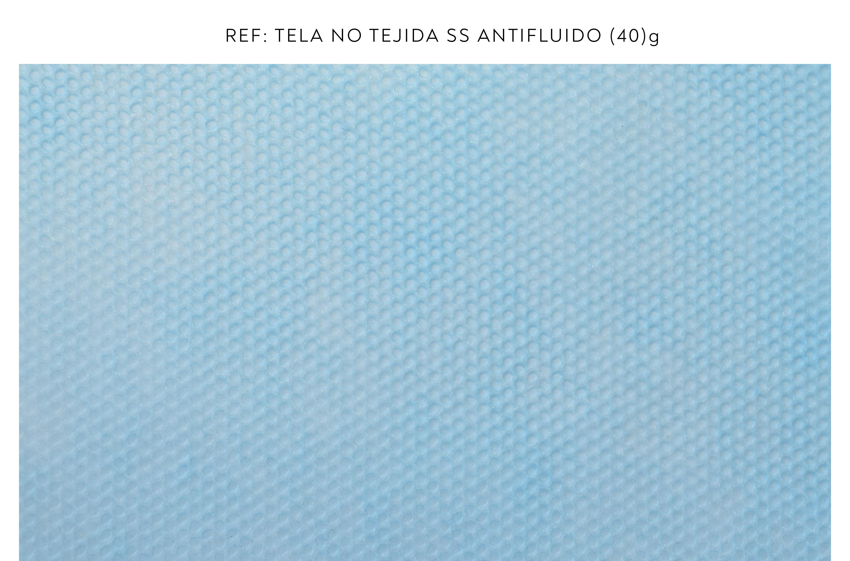 Tela no tejida azul 40g