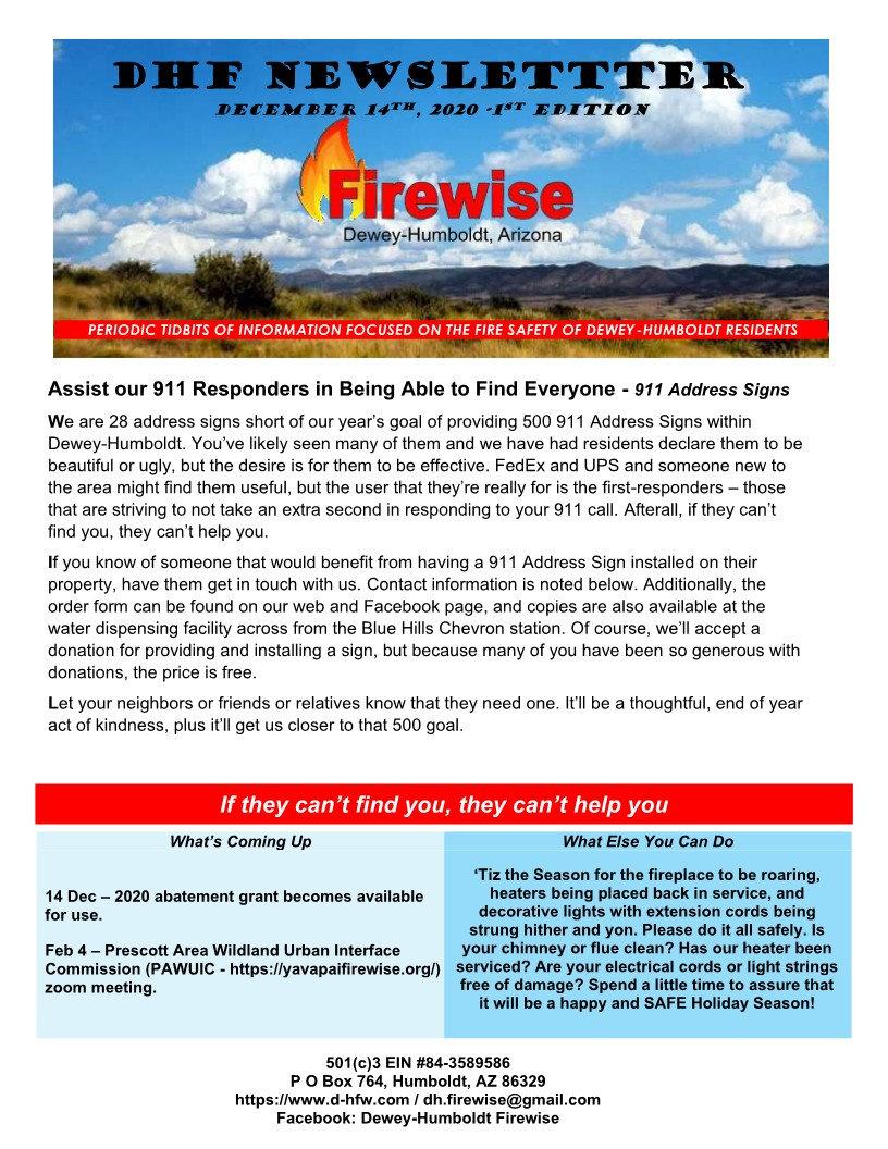 DNF Newsletter 1 -911 Address Signs_1.jp