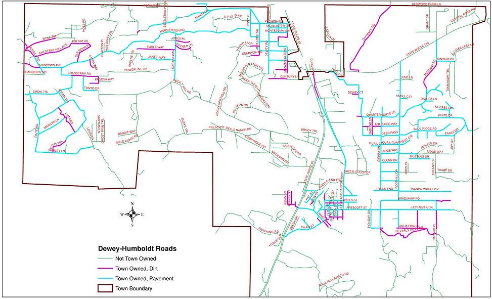 2010 Dewey-Humboldt Roads(public v. priv