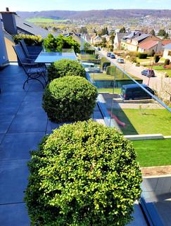 Dachgartenbepflanzung