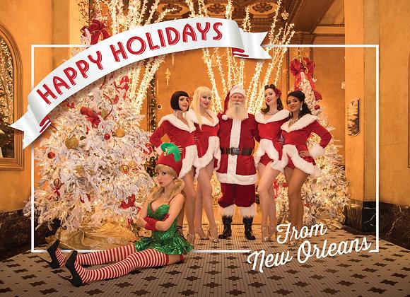 Naughty Elf Postcard