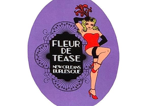 Fleur De Tease Sticker