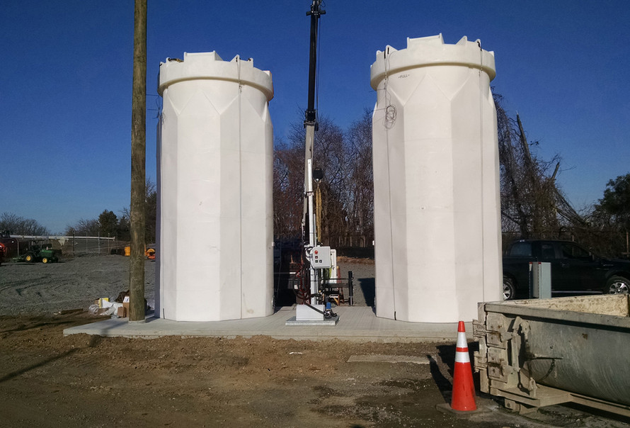 Free-standing Calcote Pedestal System
