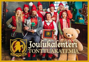 Joulukalenteri Tonttuakatemia / Advent Calendar: Elf Academy
