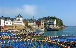 Le port de Loguivy de la mer