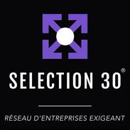 Logo Sélection 30 avec signature vecto.p