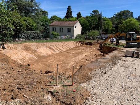 Le Saint James : démarrage des travaux d'un nouveau lotissement à Nîmes