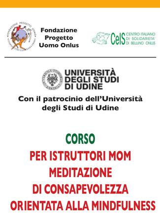 Corso per istruttori di meditazione mindfulness