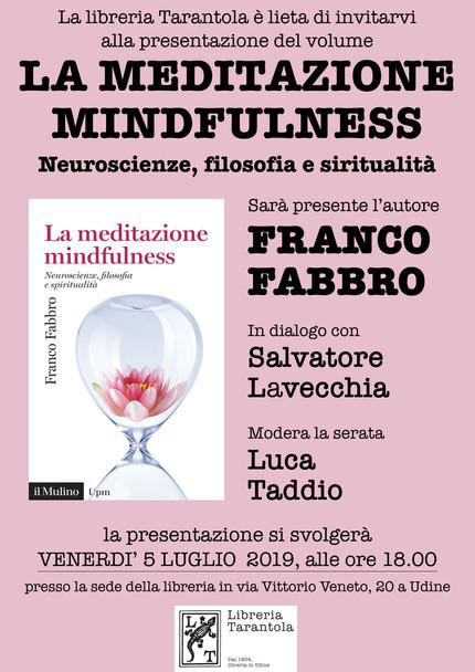 "Presentazione de ""La meditazione mindfulness"""