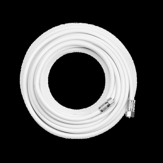 Cable coaxil RG6 con conector F