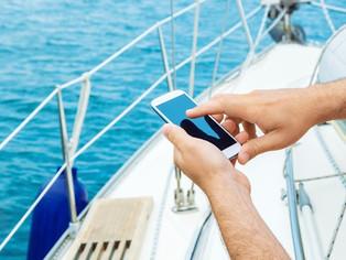 Manténgase conectado en el agua con una fuerte señal de teléfono celular