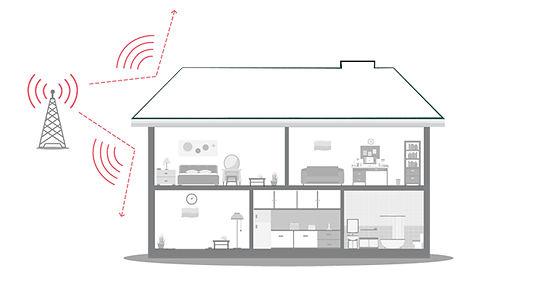 mejorar señal celular en la casa