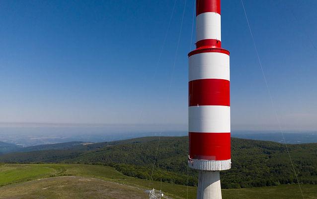 pylone antenne peinture