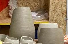 Slanty vase 'large'
