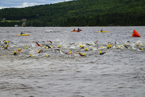 Nage - triathlon quebec