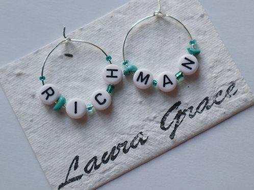 'Rich man' earrings