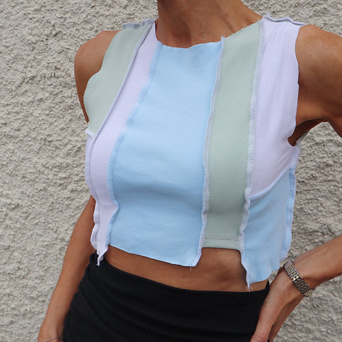 Pastels mismatch top