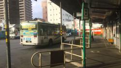盛岡バスセンターの乗り場