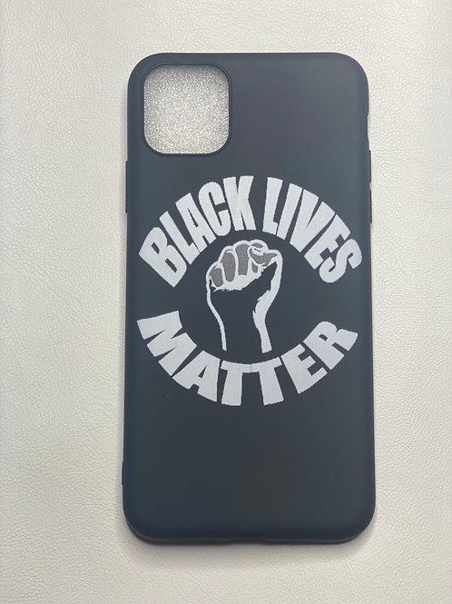 BLM White phone case
