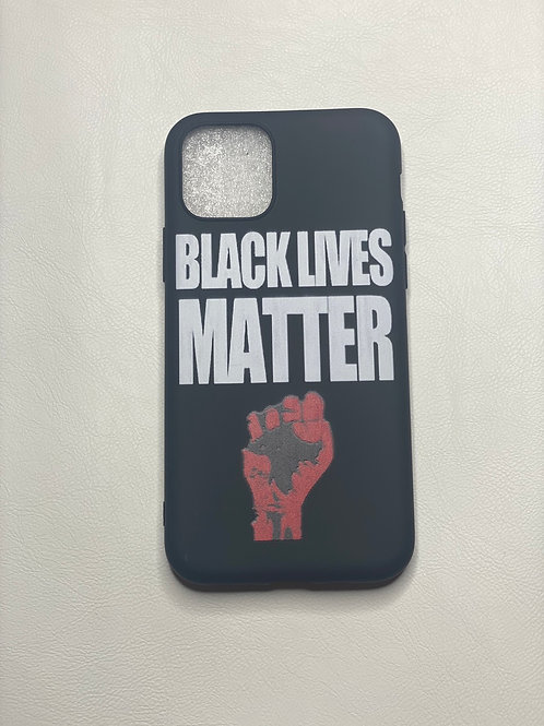 BLM Red phone case