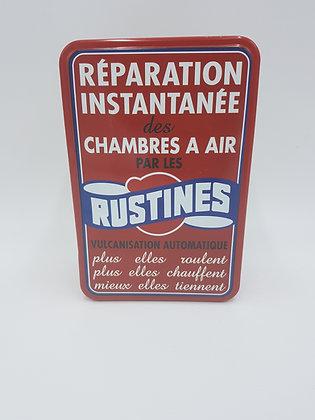 Boite métal Rustines