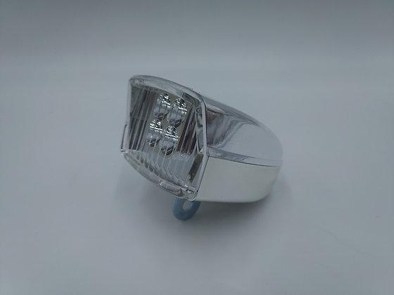 Phare chrome LED à piles