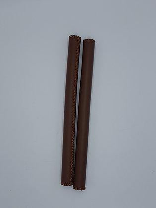 Poignée longue en cuir