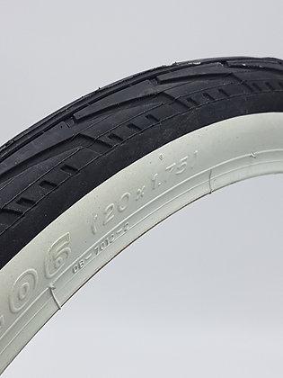 """20 """"tires (ETRTO 406)"""