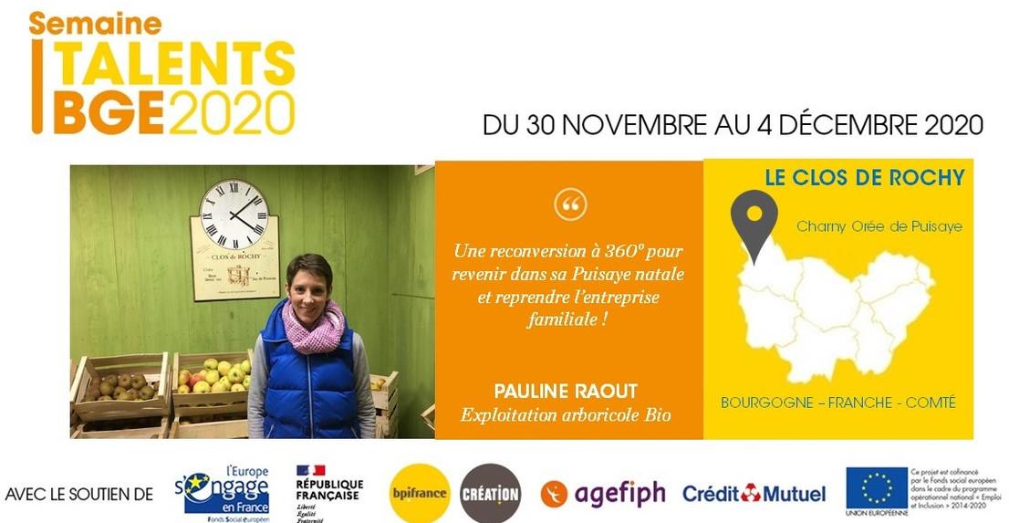 Portrait Pauline Raout, Le Clos de Rochy