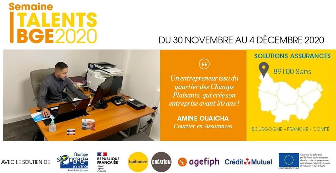 Portrait Amine Ouaicha, Solutions Assurances
