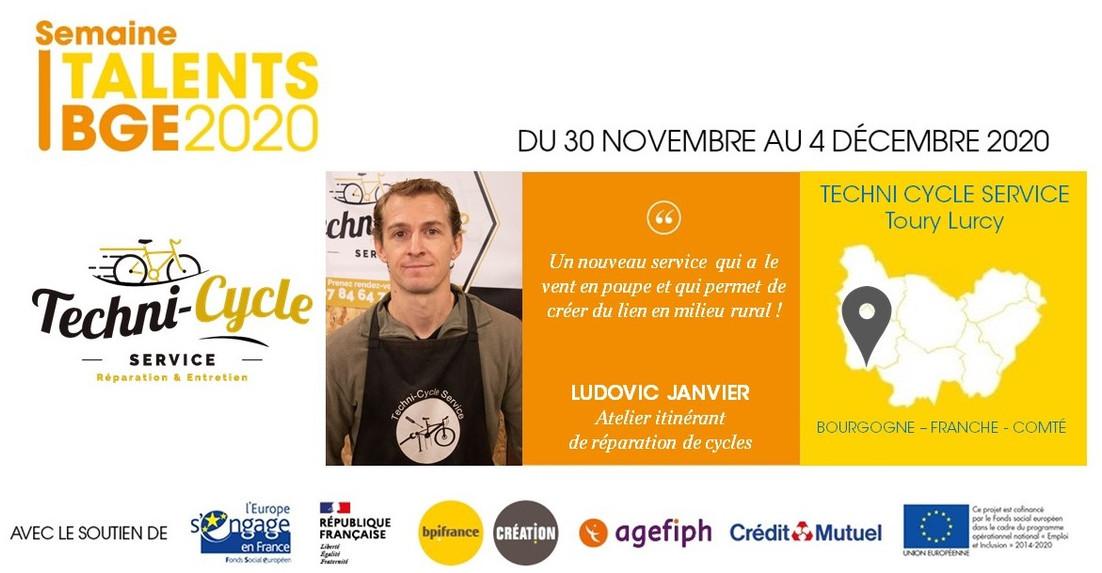 Portrait Ludovic Janvier, Techni Cycle