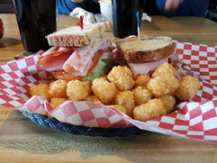 Lunch with tots