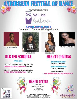 Caribbean Festival of Dance - STT SCHEDU