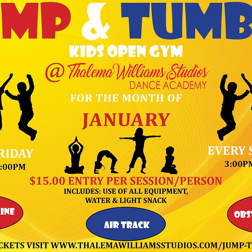 JUMP & TUMBLE - KIDS OPEN GYM