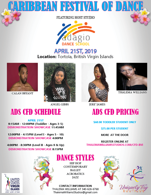 Caribbean Festival of Dance - BVI SCHEDU