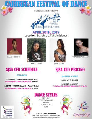 Caribbean Festival of Dance - STJ SCHEDU