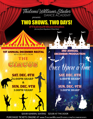 TWO SHOWS TWO DAYS
