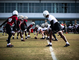 Stepp and Gray give updates on wide receivers and defensive backs in spring practice