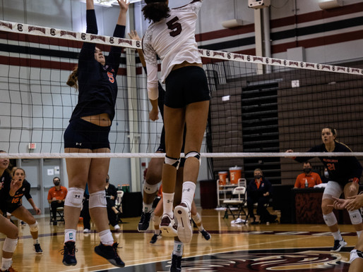 Gamecock Volleyball Sweeps Auburn