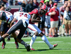 South Carolina football players speak on new offensive style, revitalized energy in program