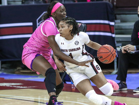 Gamecocks advance to Final Four behind historic win
