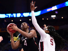 Gamecocks miss last second shot, fall to Stanford in Final Four