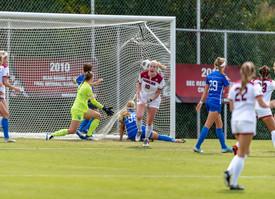 Barry's Second-Half Goal Propels Women's Soccer to Win Over UK