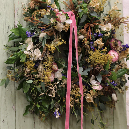 Christmas Wreath Workshop 2020 dates available soon!