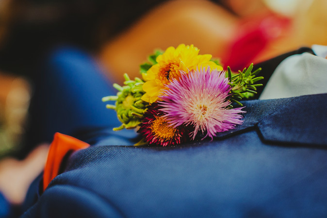 Wildly Beautiful Flowers Groom's buttonhole
