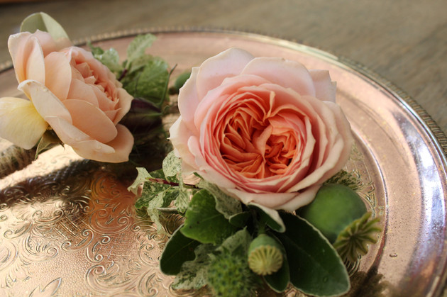 Wedding buttonholes Wildly Beautiful Flowers