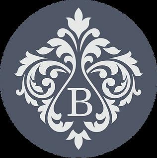 Bracey Interiors circle damask logo.png